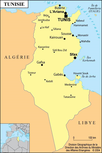 map-tunisie
